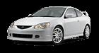 Acura RSX car list.