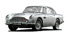 Aston Martin DB5 car list.