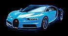 Bugatti Chrion car list.