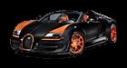 Bugatti Veyron car list.