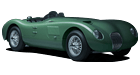 Jaguar C-Type car list.