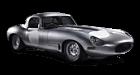 Jaguar E-Type car list.
