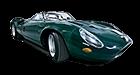 Jaguar XJ13 car list.
