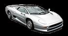 Jaguar XJ220 car list.