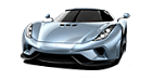 Koenigsegg Regera car list.