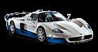 Maserati MC12 car list.