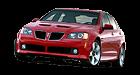 Pontiac G8 car list.