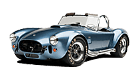 Shelby Cobra car list.