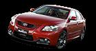 Toyota Aurion car list.
