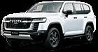 Toyota Land Cruiser car list.