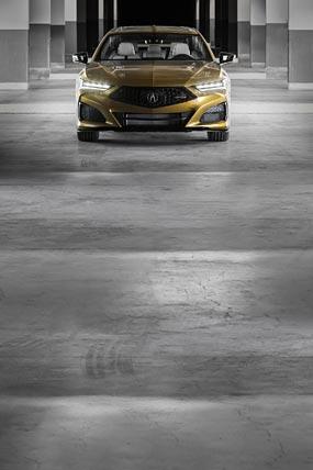 2021 Acura TLX Type S phone wallpaper thumbnail.