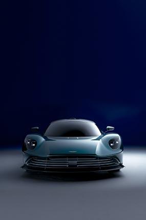 2022 Aston Martin Valhalla phone wallpaper thumbnail.