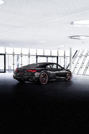 2021 Audi R8 RWD Panther Edition phone wallpaper thumbnail.