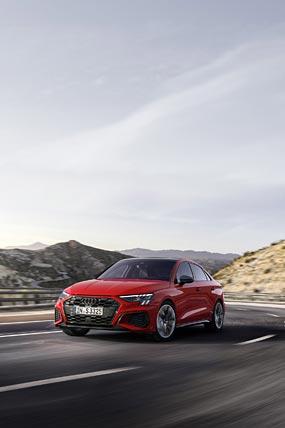 2021 Audi S3 phone wallpaper thumbnail.