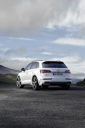 2021 Audi SQ5 phone wallpaper thumbnail.