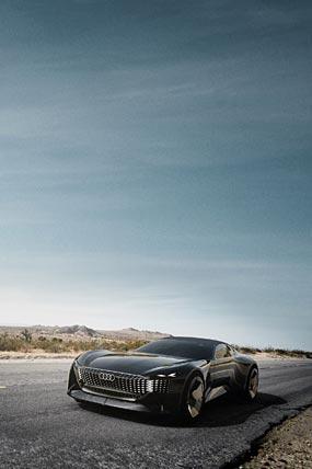 2021 Audi Skysphere Concept phone wallpaper thumbnail.