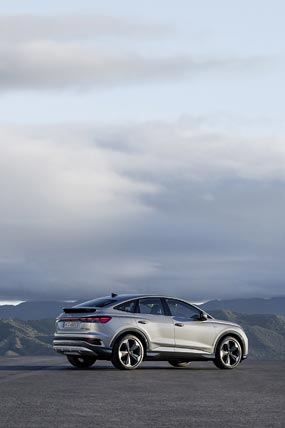 2022 Audi Q4 E-Tron phone wallpaper thumbnail.