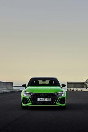 2022 Audi RS3 Sedan phone wallpaper thumbnail.