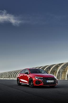 2022 Audi RS3 Sportback phone wallpaper thumbnail.