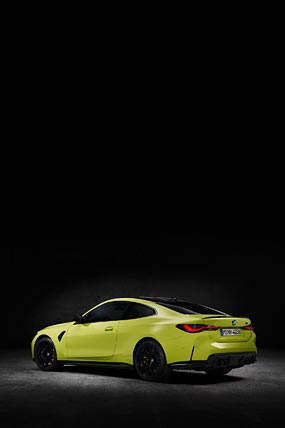 2021 BMW M4 Competition phone wallpaper thumbnail.
