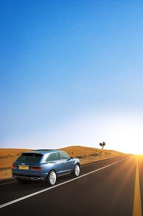 2012 Bentley EXP 9 F Concept phone wallpaper thumbnail.