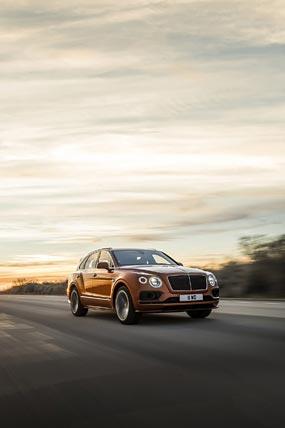 2020 Bentley Bentayga Speed phone wallpaper thumbnail.