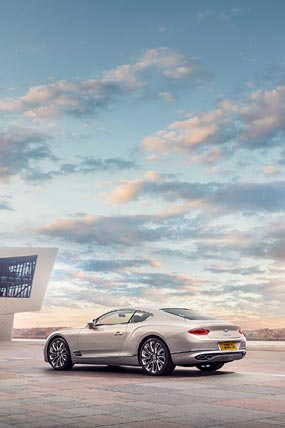 2020 Bentley Continental GT Mulliner phone wallpaper thumbnail.
