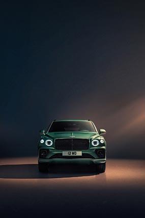2021 Bentley Bentayga phone wallpaper thumbnail.