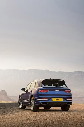 2021 Bentley Bentayga Speed phone wallpaper thumbnail.