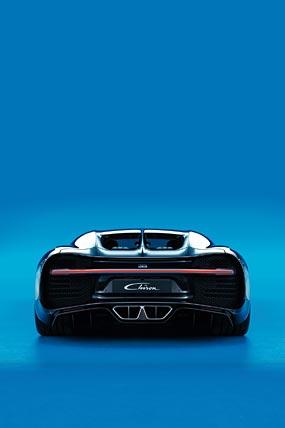 2017 Bugatti Chiron phone wallpaper thumbnail.