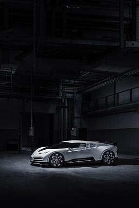 2020 Bugatti Centodieci phone wallpaper thumbnail.