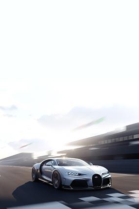 2022 Bugatti Chiron Super Sport phone wallpaper thumbnail.