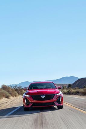 2020 Cadillac CT5-V phone wallpaper thumbnail.