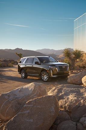 2021 Cadillac Escalade phone wallpaper thumbnail.