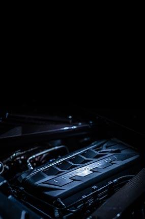 2021 Chevrolet Corvette Stingray phone wallpaper thumbnail.