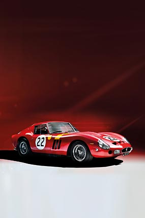 1962 Ferrari 250 GTO phone wallpaper thumbnail.