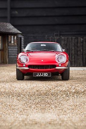 1965 Ferrari 275 GTB phone wallpaper thumbnail.