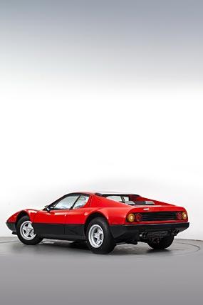 1976 Ferrari 512 BB phone wallpaper thumbnail.