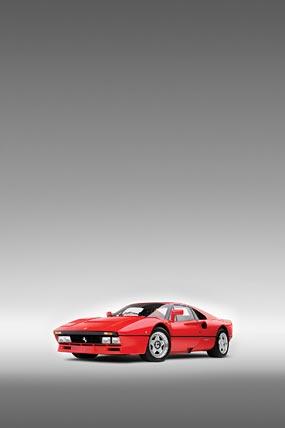 1984 Ferrari 288 GTO phone wallpaper thumbnail.