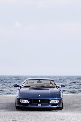 1991 Ferrari 512 TR phone wallpaper thumbnail.