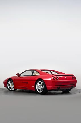 1994 Ferrari F355 Berlinetta phone wallpaper thumbnail.