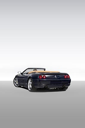 1995 Ferrari F355 Spider phone wallpaper thumbnail.