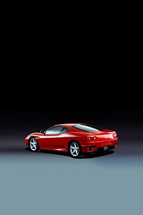 2001 Ferrari 360 Modena phone wallpaper thumbnail.