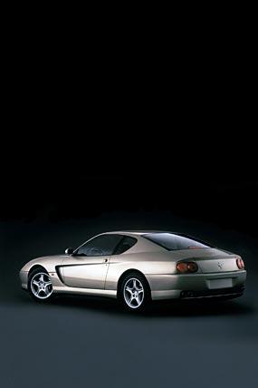 2001 Ferrari 456M GT phone wallpaper thumbnail.