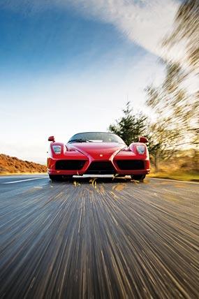 2002 Ferrari Enzo phone wallpaper thumbnail.