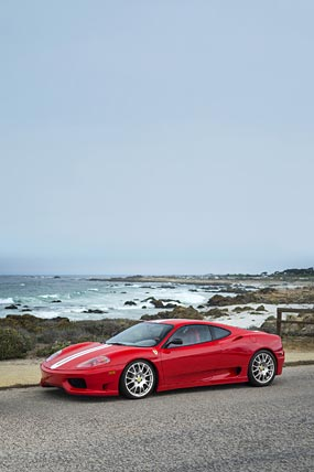 2003 Ferrari 360 Challenge Stradale phone wallpaper thumbnail.