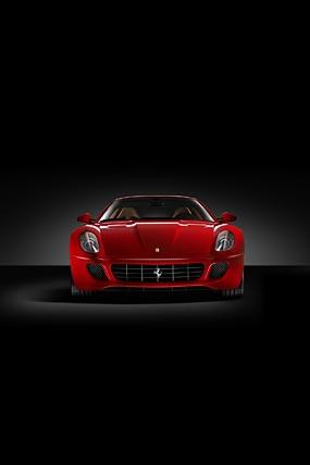 2006 Ferrari 599 GTB phone wallpaper thumbnail.