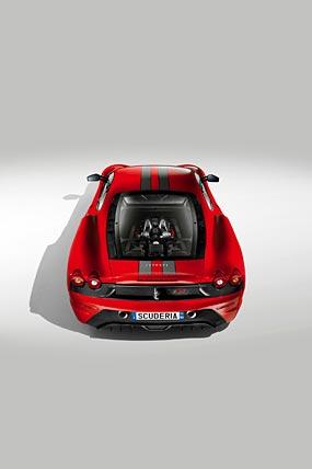 2008 Ferrari 430 Scuderia phone wallpaper thumbnail.