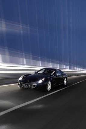 2008 Ferrari 612 Scaglietti phone wallpaper thumbnail.