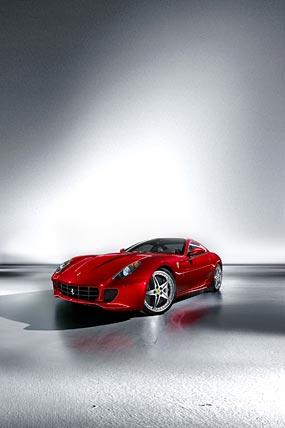 2009 Ferrari 599 Handling GTE Package phone wallpaper thumbnail.